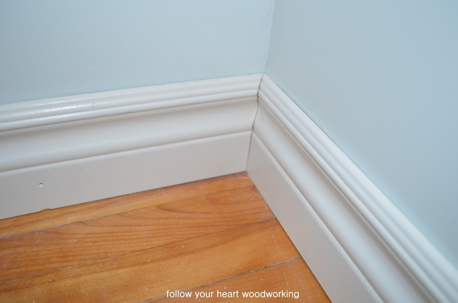 how to cut baseboards without coping saw