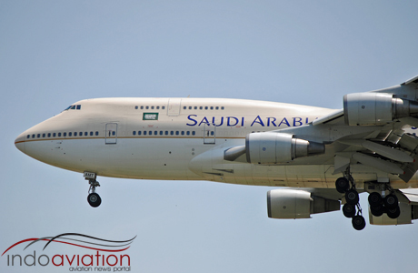 Saudi Arabian Airlines 747-400