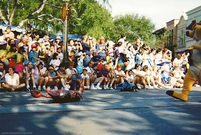 Lion King Celebration Disneyland beetle scorpions bugs Timon parade