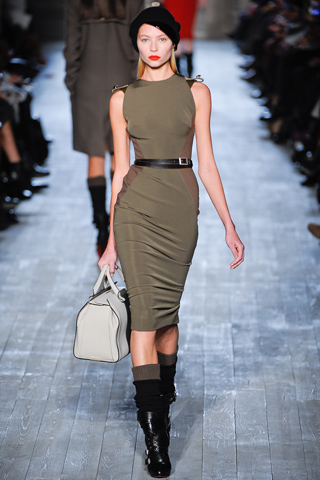 Dress  York on New York Fashion Week   Fall 2012 Presents Victoria Beckham