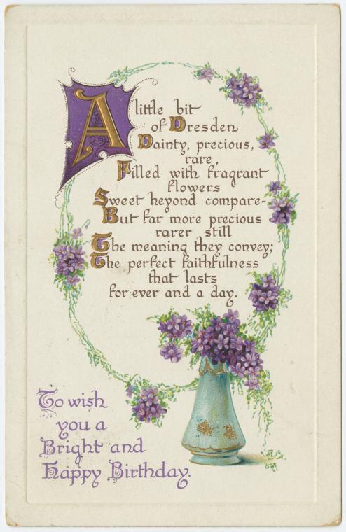 Kurious Ks Kwotes An Old Fashioned Birthday Wish