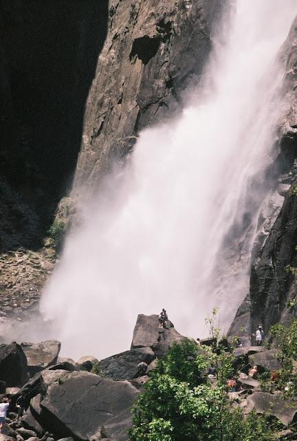 Wodospad Yosemite