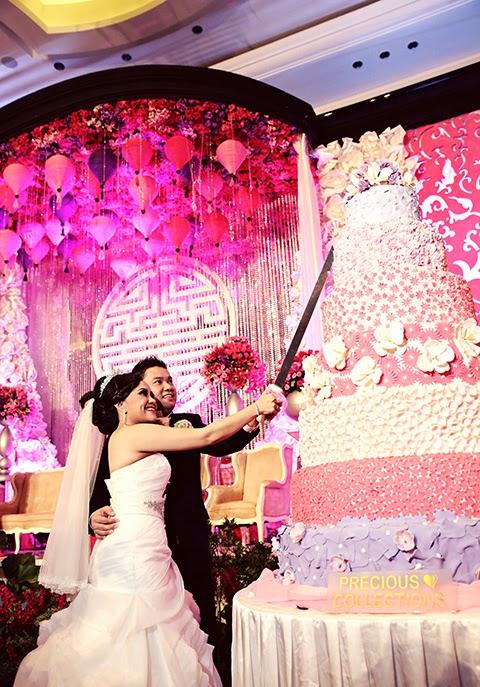 Mẫu bánh cưới đẹp lộng lẫy và cầu kỳ cho tiệc cưới 6