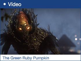 The Green Ruby Pumpkin
