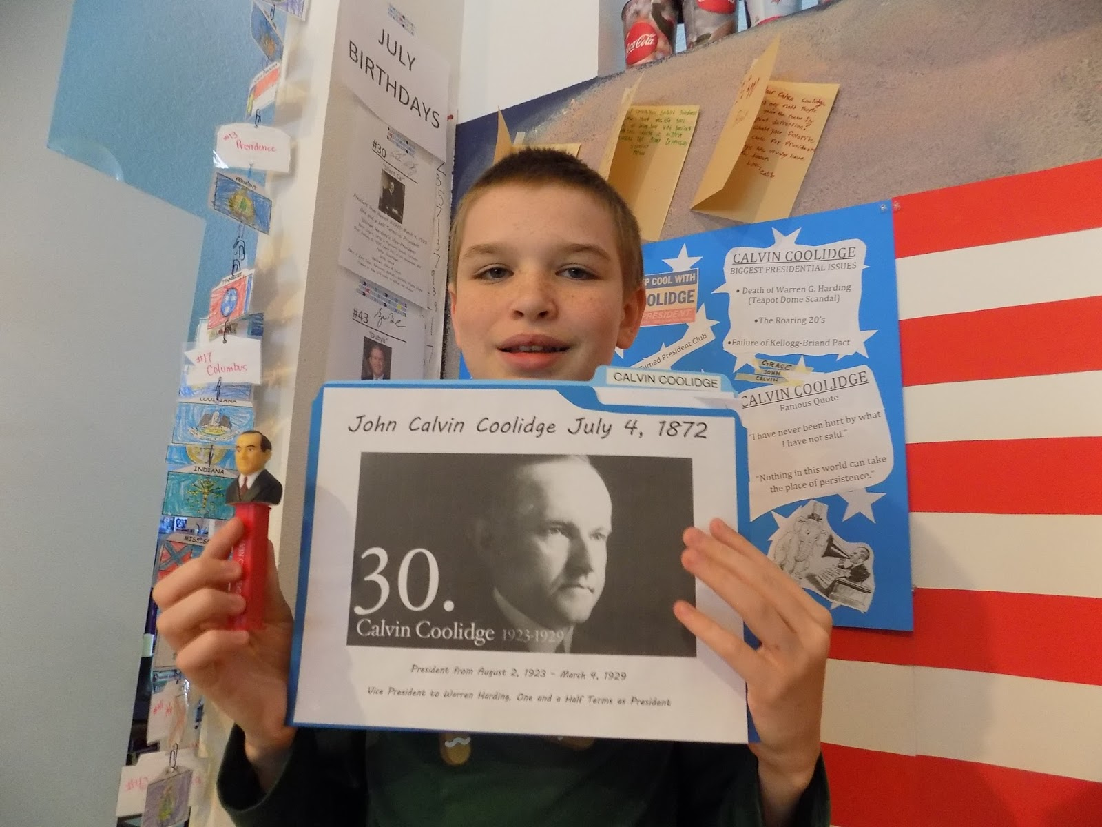 Famous Birthdays July 5 with the waterstraut waterspout: happy 143rd birthday, silent cal!