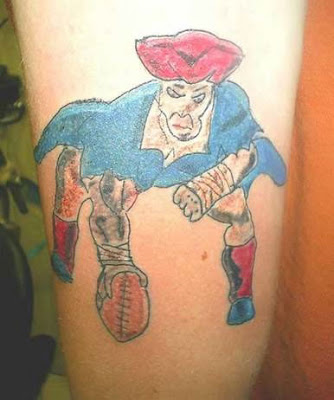Patriots tattoo design picture gallery - Patriots tattoo ideas