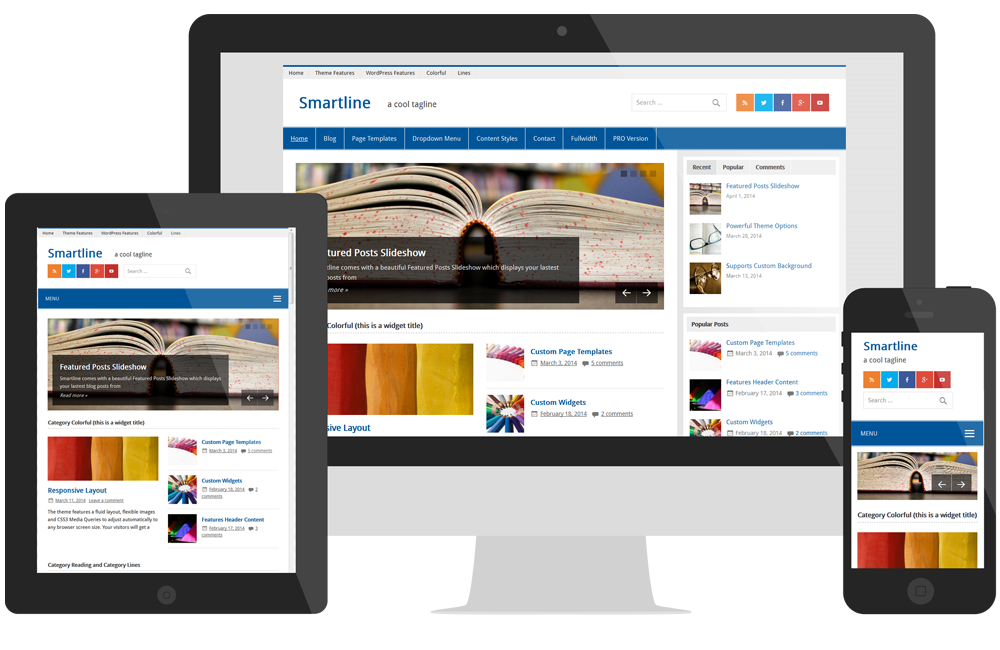 Smartline - Responsive Wordpress Magazine News Theme