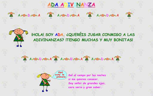 http://www.nenos.com/infantil/ada/ada.htm