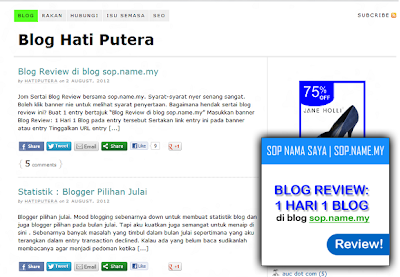 Blog Review: Blog Hati Putera