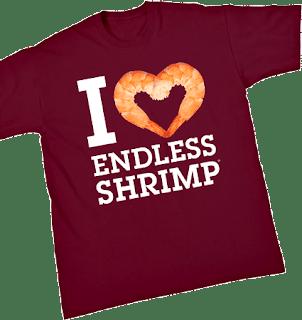 I Love Endless Shrimp T-shirt