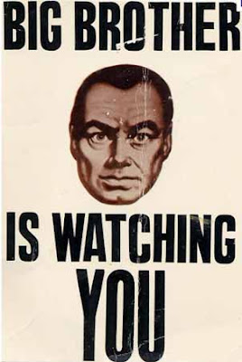 poster that says big brother is watching you