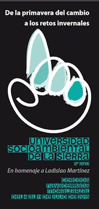 UNIVERSIDAD SOCIOAMBIENTAL DE LA SIERRA DE GUADARRAMA