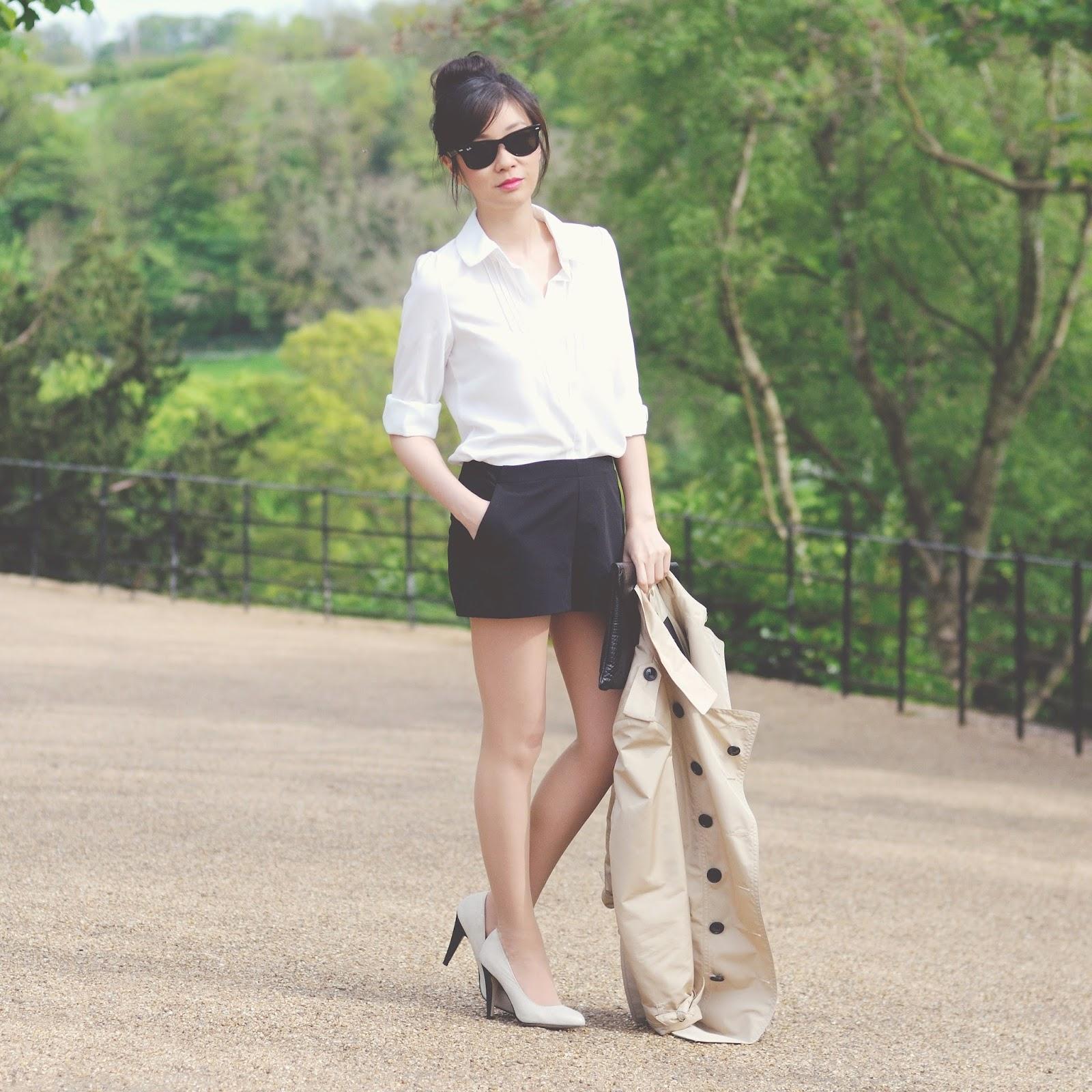 ways to wear monochrome, fashion blog uk
