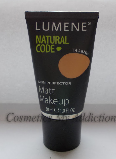 Lumene natural code Matte make up