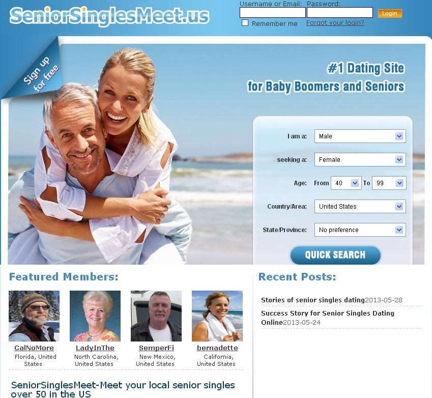 napo senior dating site The senior dating website welcome to the dating site for mature women and men seeking love and or companionship we have a huge member base of senior singles from all over the united states so you're assured finding love in your local area.