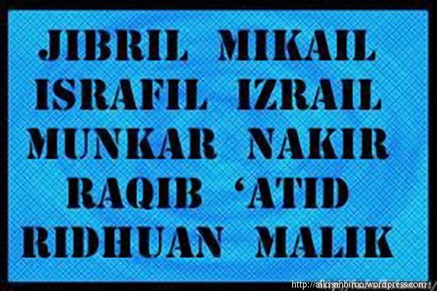 10 Nama-Nama Malaikat dan Tugas-Tugas