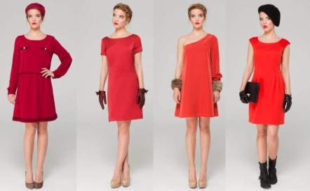 Bolsos de fiesta para un vestido rojo