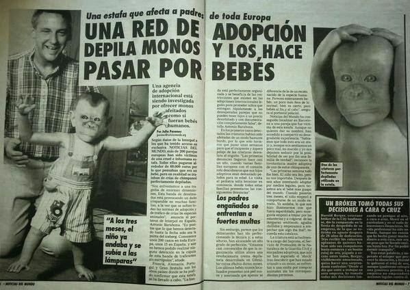 Peligrosa red de adopción