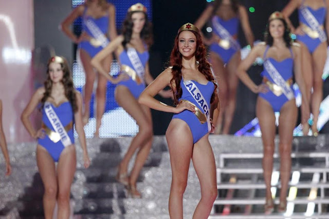 Miss France 2012 Delphine Wespiser