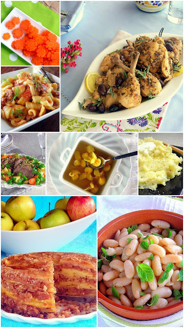 photos of recipes the learn to pressure cook series will use to teach pressure cooking