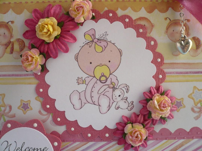di solito preferisco i toni del rosa delicati per nascita o Battesimo ...