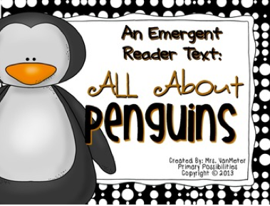 http://www.teacherspayteachers.com/Product/Penguins-Emergent-Reader-Text-1029705
