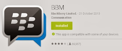 Download Apk BBM 1.0.0.70 For Android
