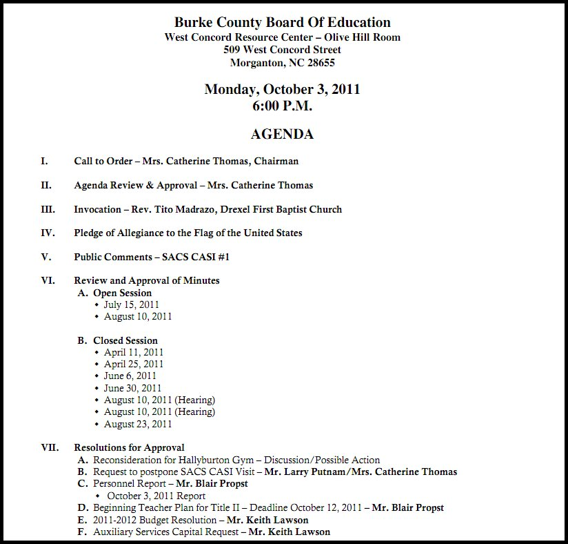 vote in December 2011 to approve the minutes. The four new board ...
