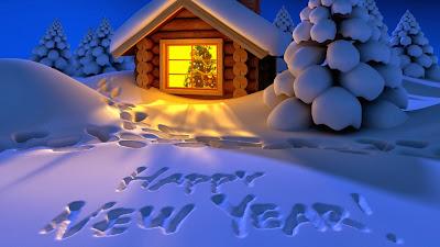 Happy New Year 2014 Kashmiri SMS or Greetings