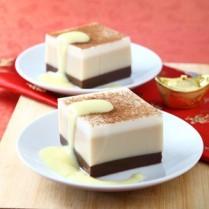 cara membuat puding coklat vanila kopi