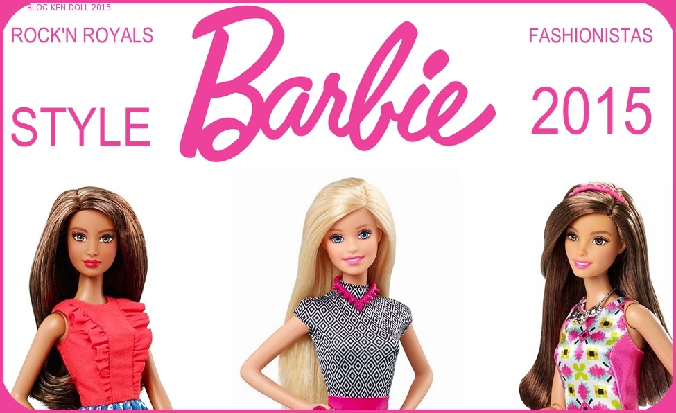 Barbie Fashionista 2015 e Barbie Fashionistas