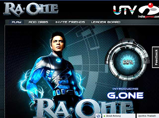 How to Download Ra.ONE Game,How to play Ra.ONE Game