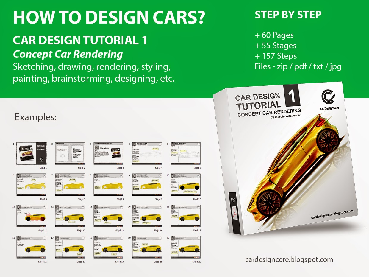 Car design core here and now tutorial 1 concept car rendering tutorial 1 concept car rendering baditri Images