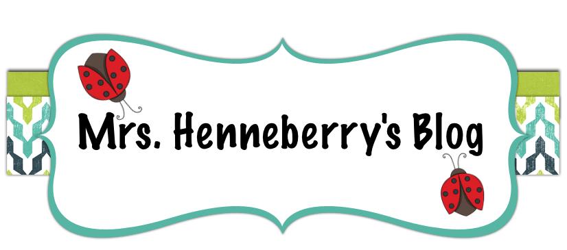 Mrs. Henneberry's 3rd Grade Class
