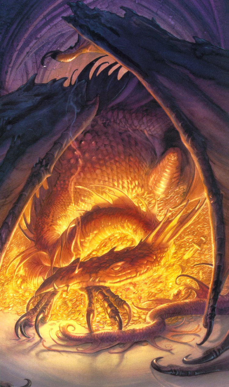 smaug the dragon hobbit - photo #19