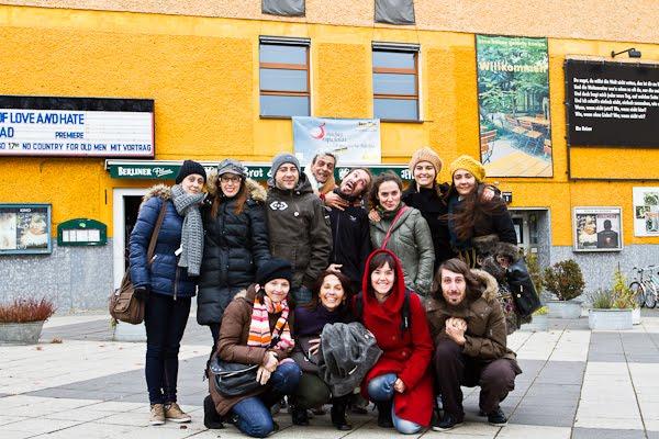 En la Brotfabrik Bühne, Berlín, noviembre de 2011