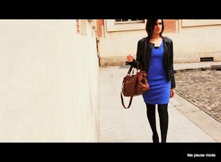 robe bleue hetm