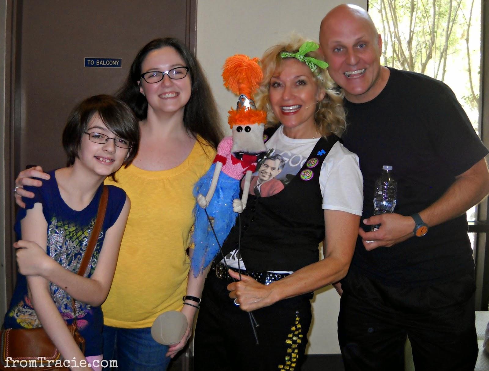Tracie and Katarina with Leslie Carrara-Rudolph and John DeHaas