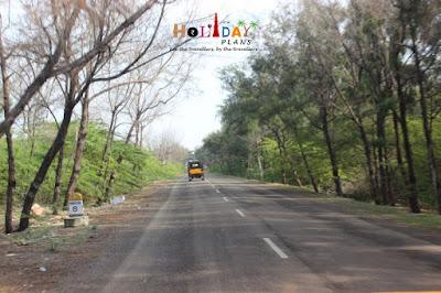 Dhanushkodi Milestone: 8km