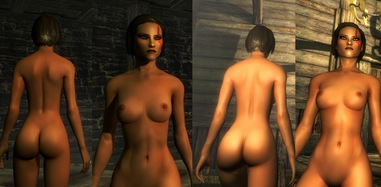 Skyrim nude female pack cartoon tubes