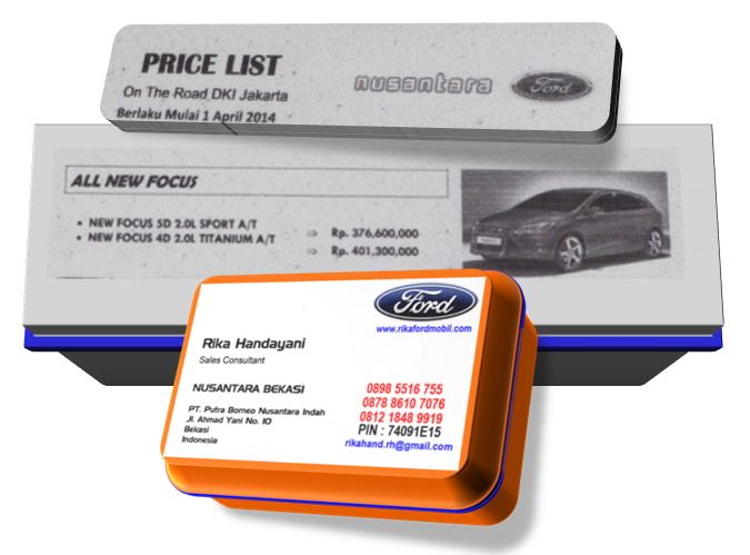 Daftar Harga dan Paket Kredit Ford All New Focus