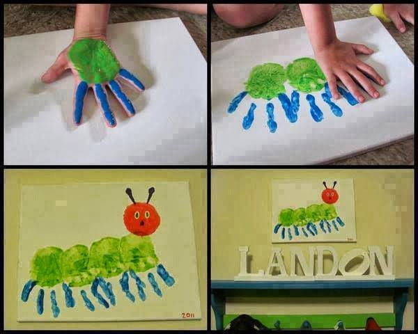 Its A Family Handprint Tree Which Will Look Great In Your Living Room Are Is Quite Popular Today As You Can Find Different Art Projects With