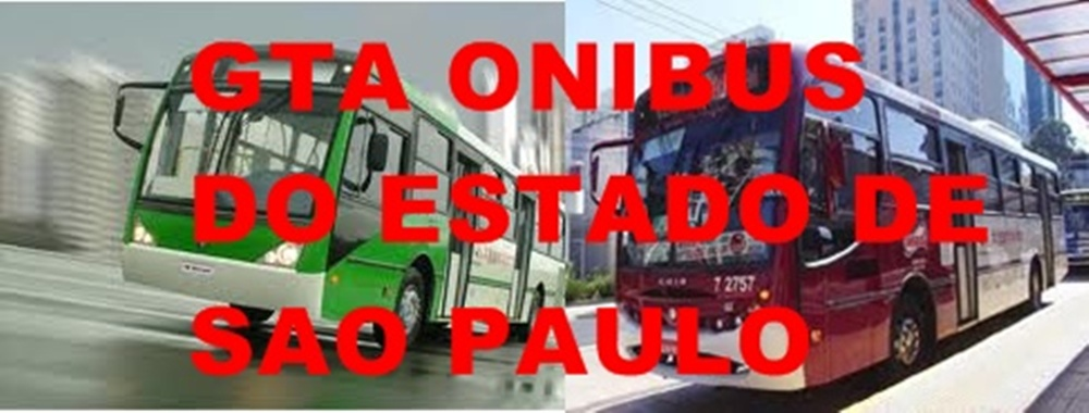 Gta Ônibus Do Estado De Sao Paulo