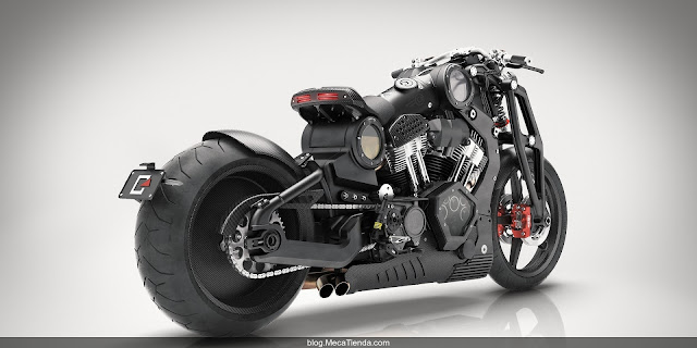 MecaTienda Confederate Motorcycles lanza la G2 P51 Combat Fighter