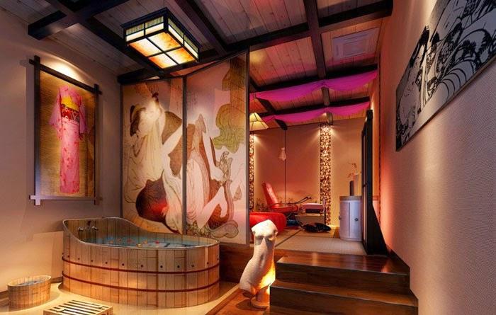 Cuarto De Baño Estilo Japones:Baños de Diseño Elegante de Estilo Japonés : Baños y Muebles