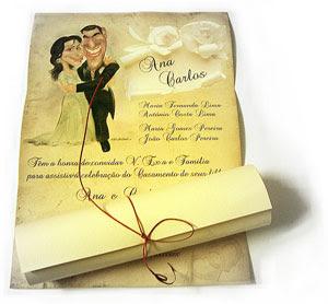 Convites de Cerimônia de Casamento
