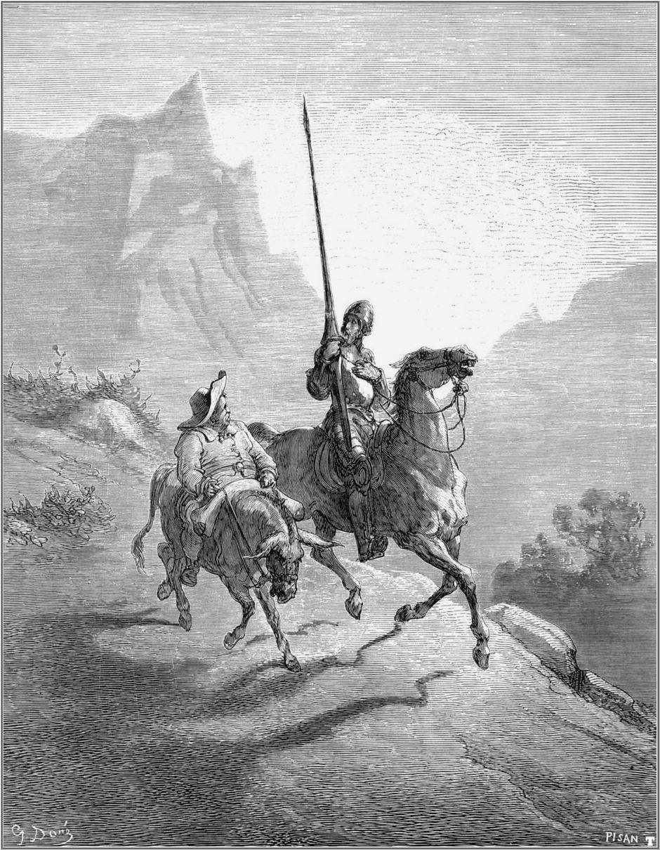 a plot summary of the novel don quixote The main driving force in the second part of don quixote's story is a lie that  sancho tells don quixote he says dulcinea has been transformed.
