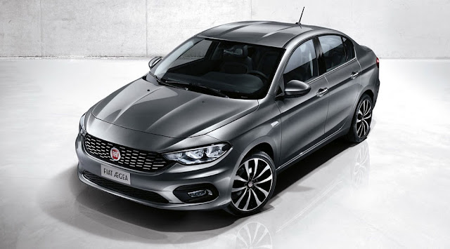 New Fiat Aegea Compact Sedan