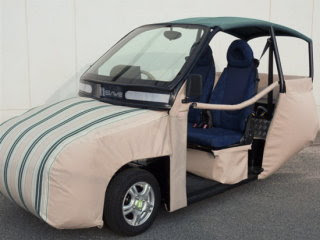 最安全的車子 充氣車子