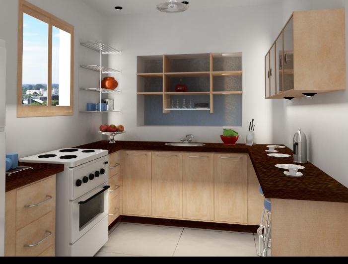 bentuk dapur minimalis